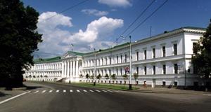 Город Полтава, центр, здание Городского Совета